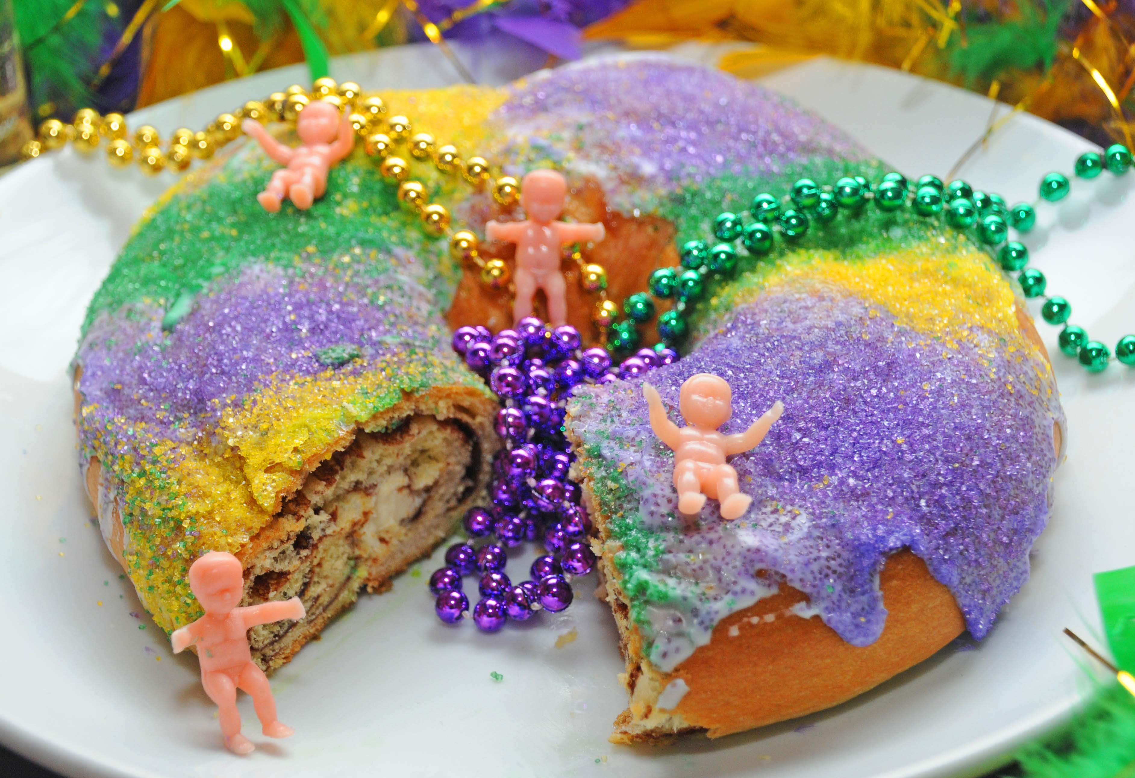 King Cake New Orleans Baby