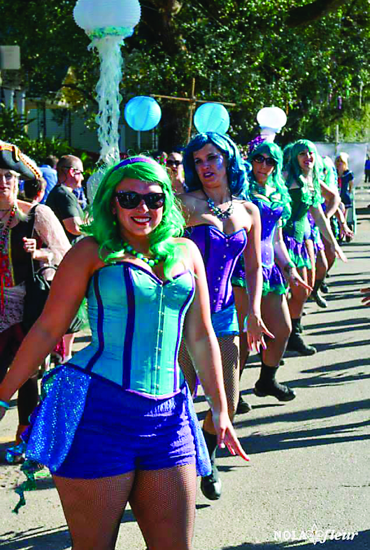 Marching Groups of Mardi Gras