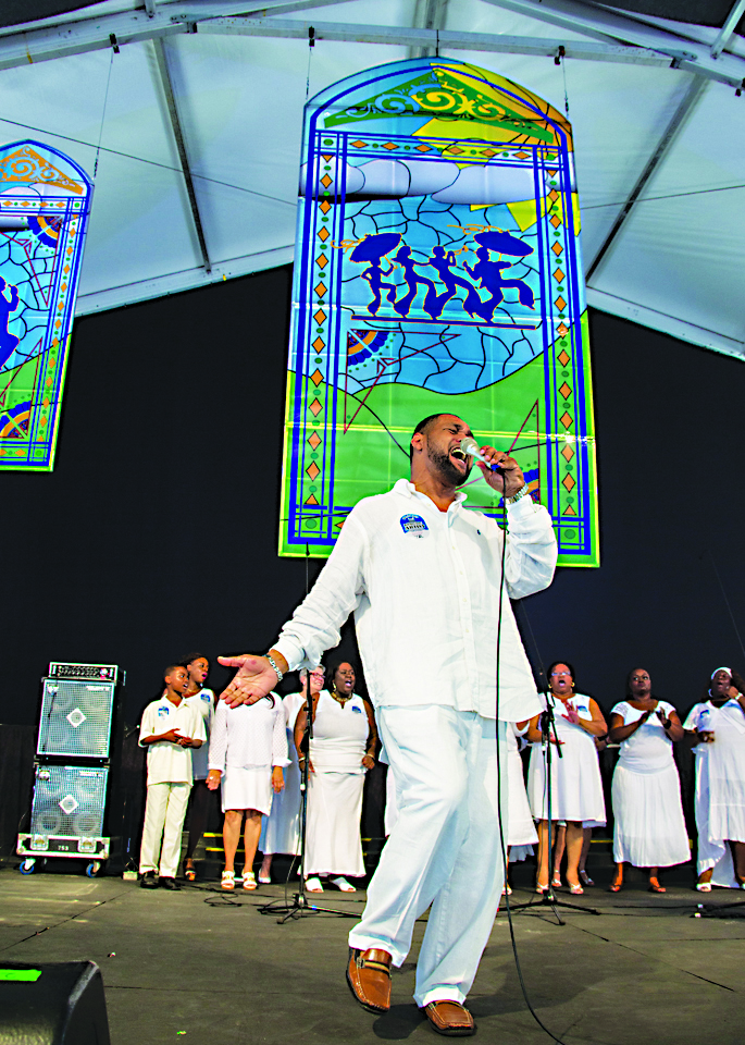 Under The Gospel Tent