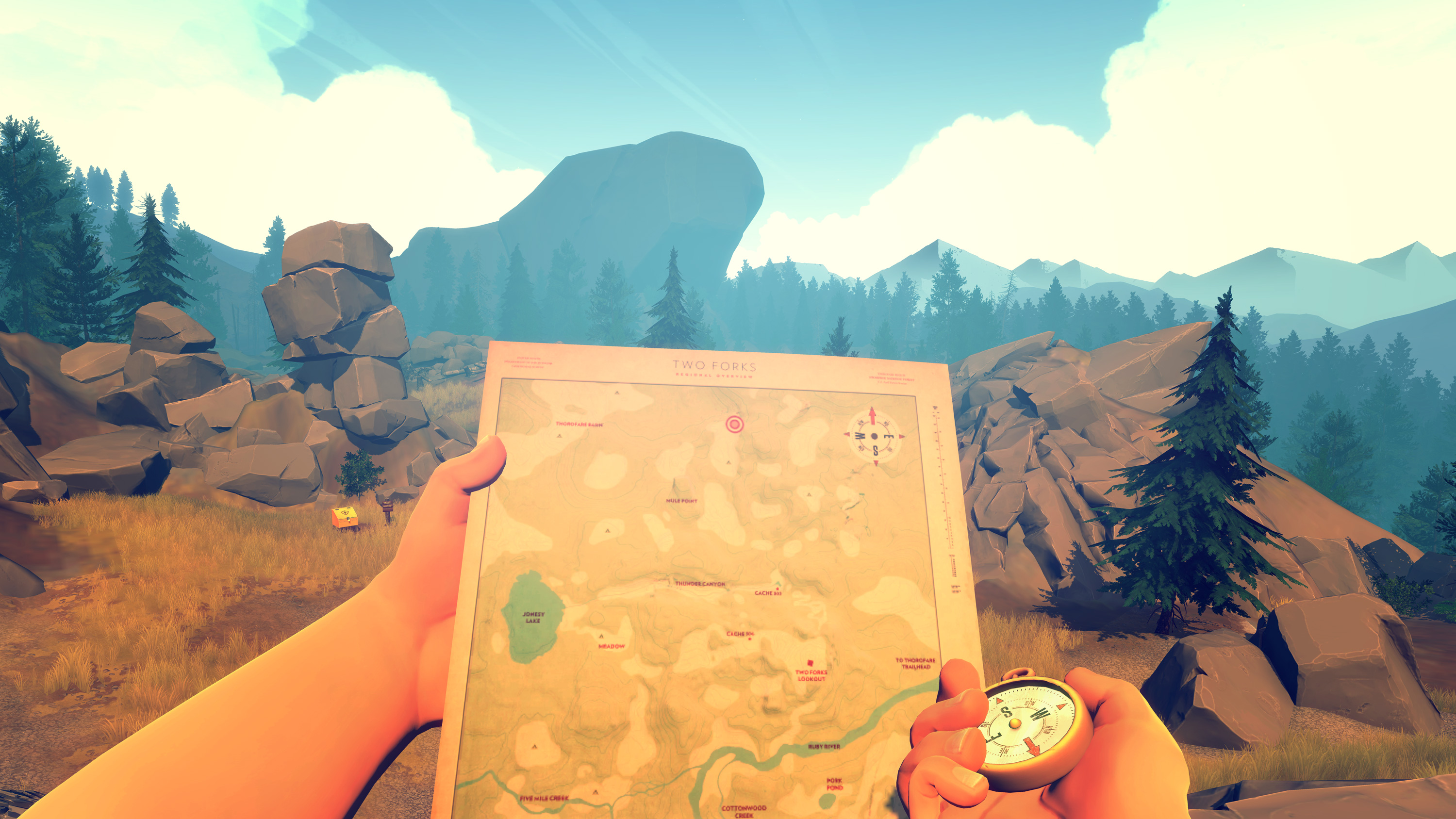 Game Review: Firewatch for Xbox One