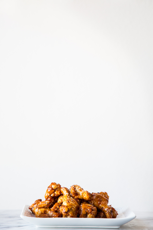 Maple & Crystal Hot Sauce Baked Chicken Wings
