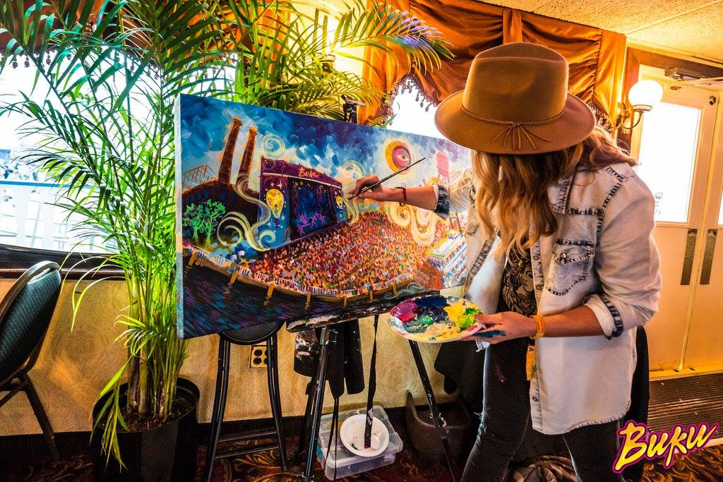 Living Paintings in New Orleans