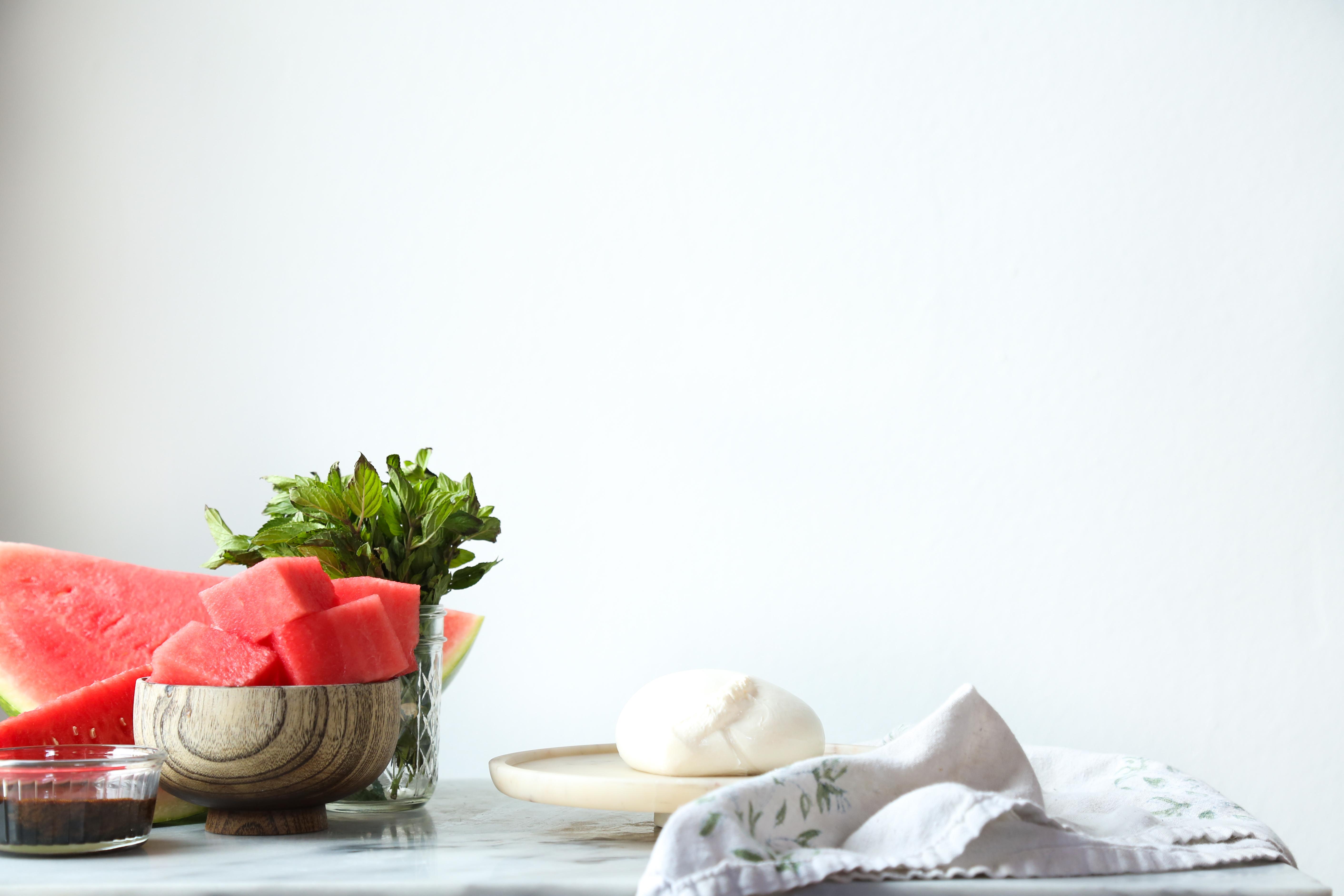 Probably This!: Watermelon & Burrata Caprese