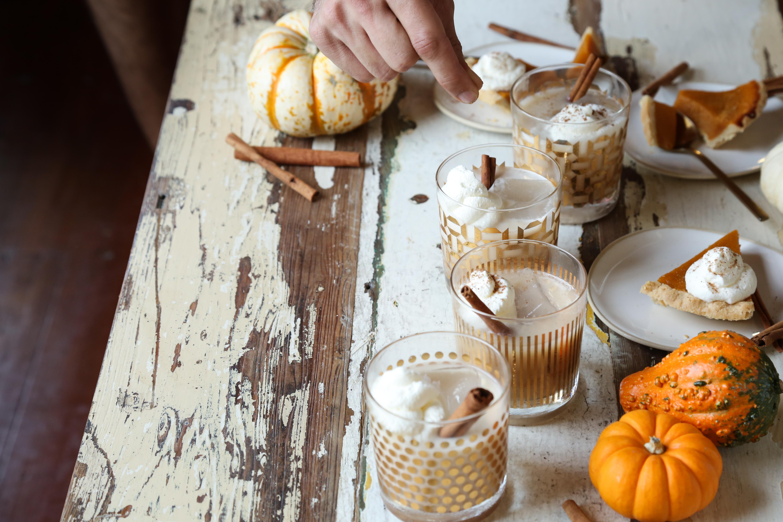 Recipe: Pumpkin Spice Bourbon Milk Punch