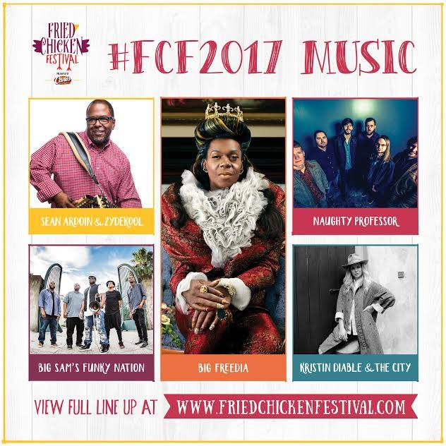 Big Freedia, Naughty Professor and Big Sam's Funky Nation Among Lineup for The National Fried Chicken Festival