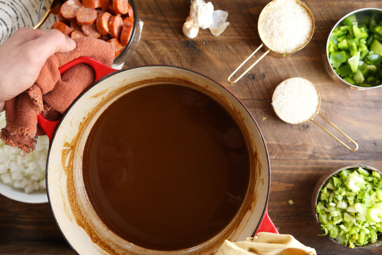 Recipe: Turkey Andouille Gumbo