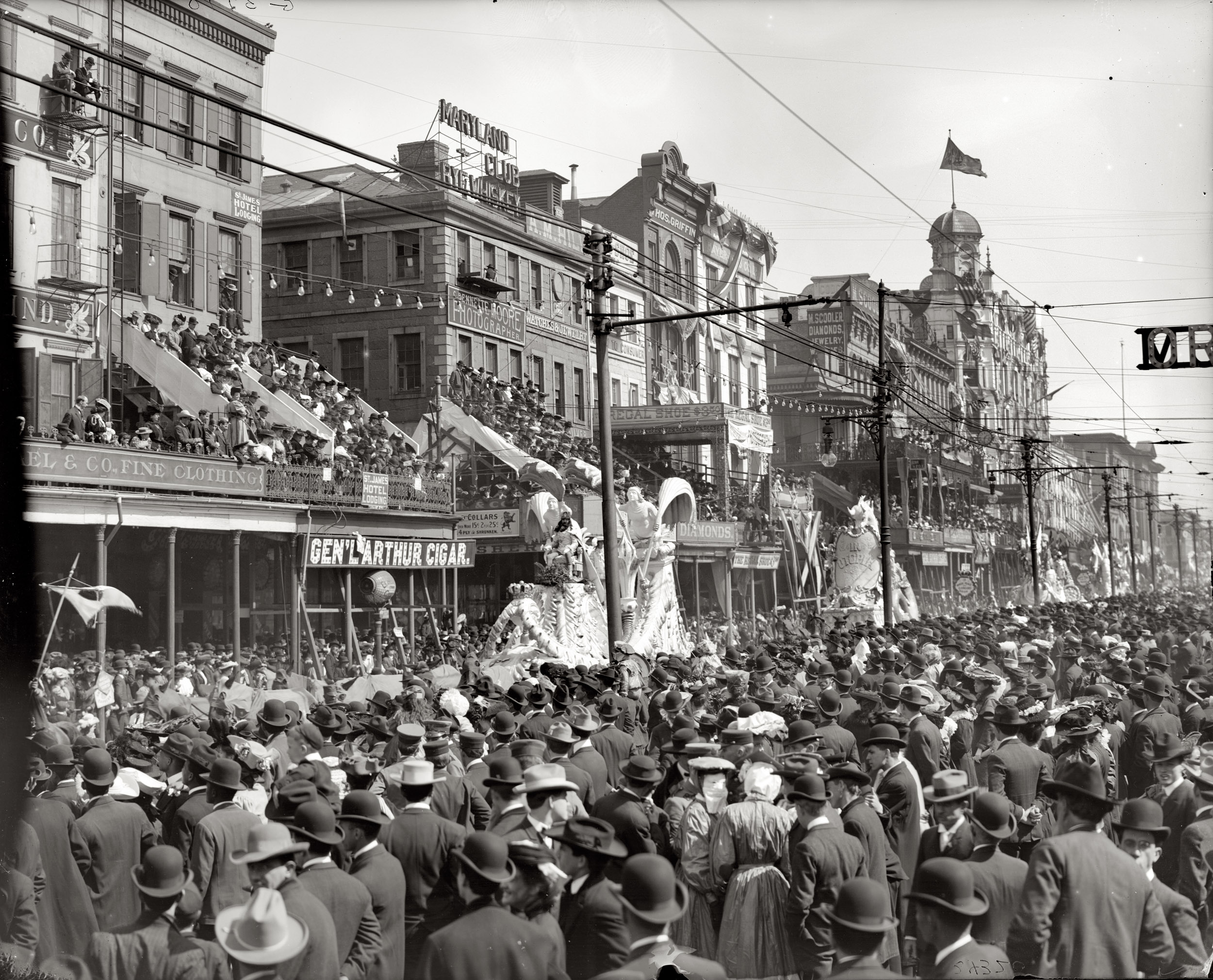 The Motley Krewes of Mardi Gras: A Glimpse into the Past