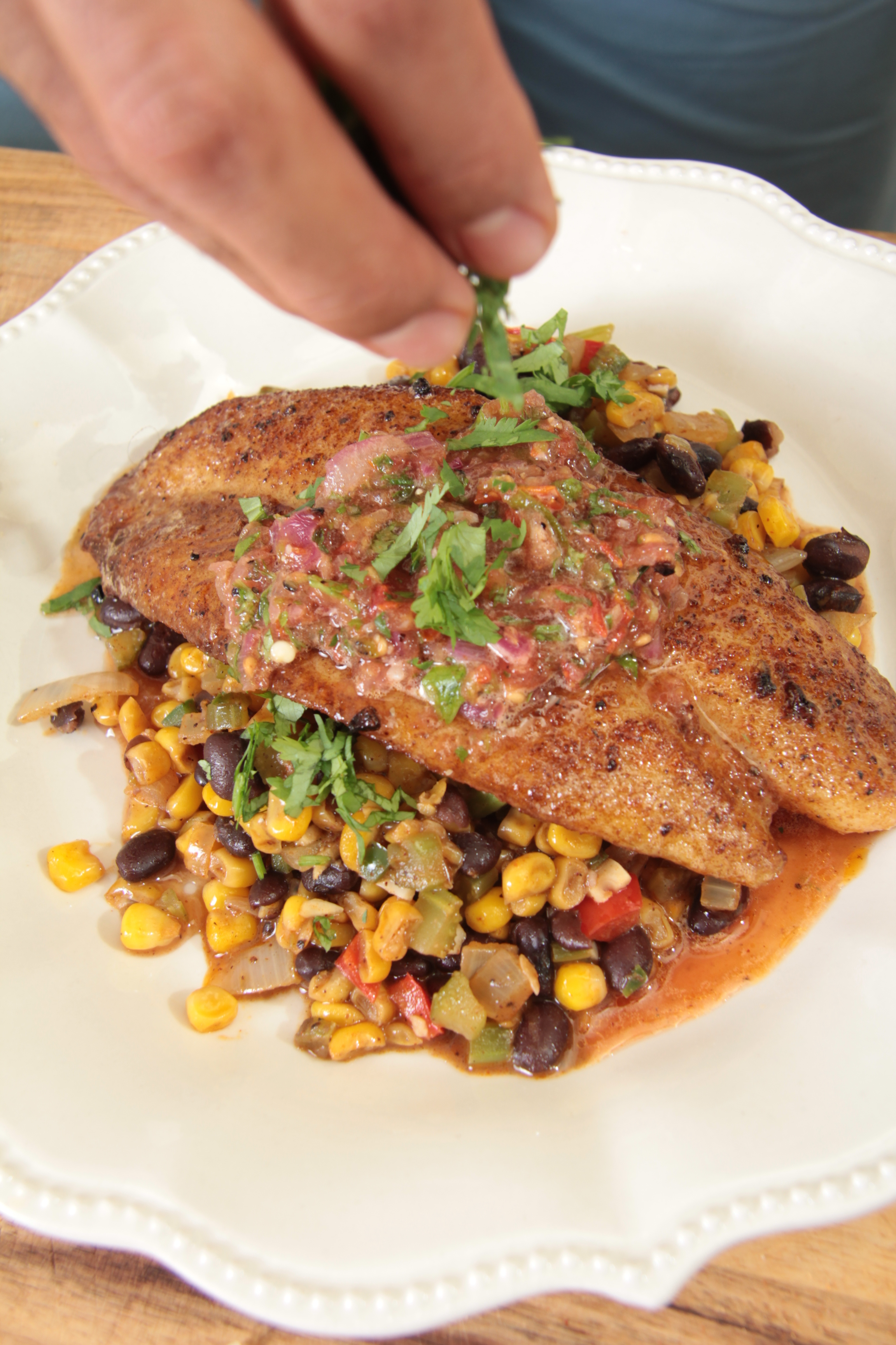 Chef Kenneth Temple: Cookin' It in the 'Trap'