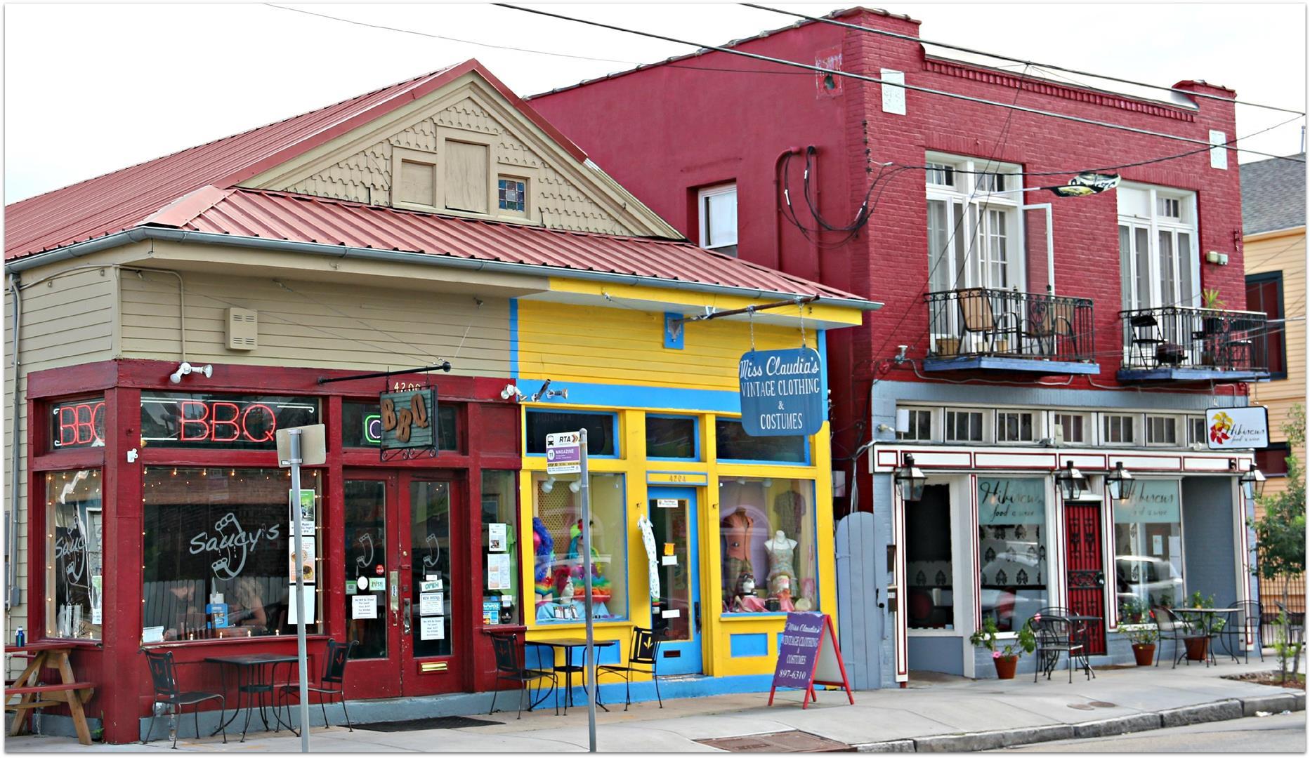 Uptown New Orleans Restaurants