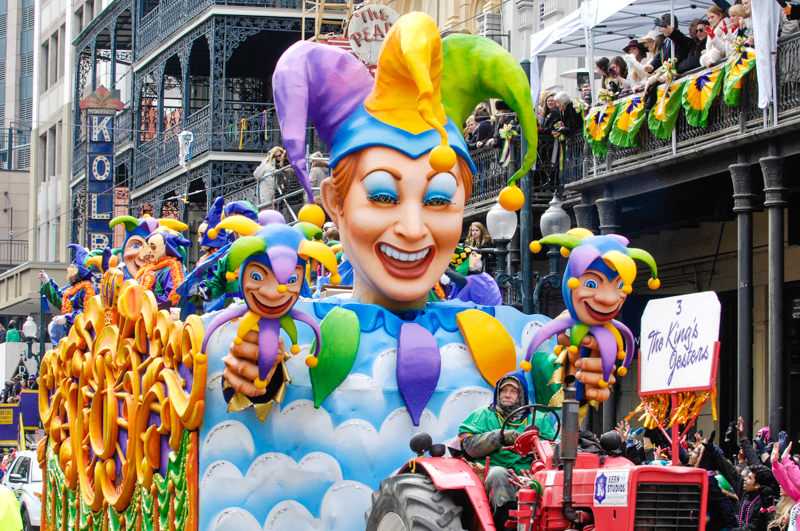 Experiencing Mardi Gras From A Float Rider's Perspective