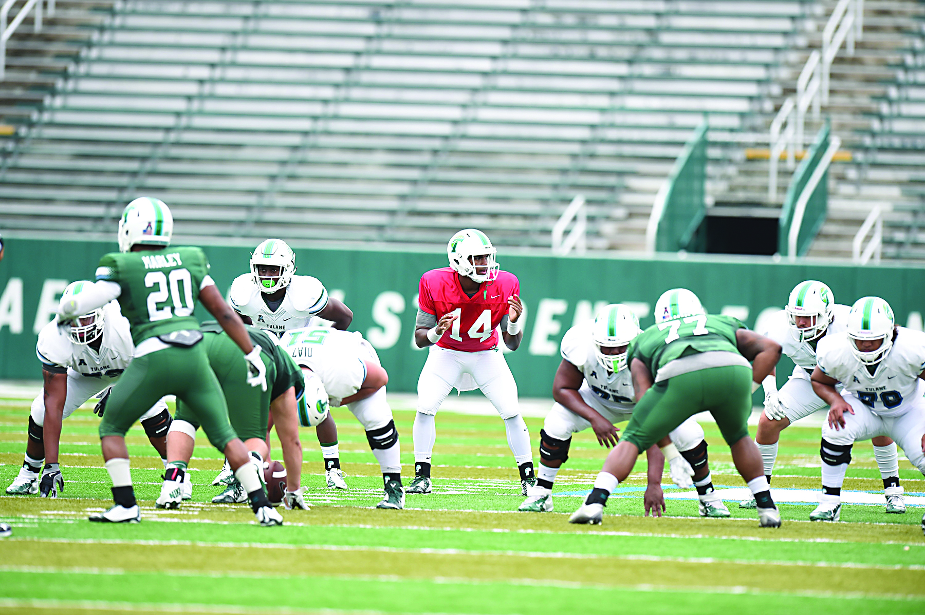 2016 Green Wave Football Preview