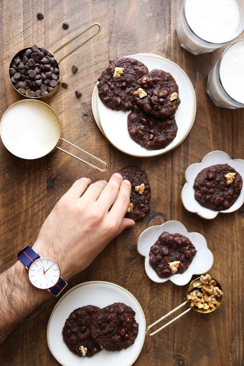 Probably This!: Nutty Chocolate Brookies (Brownie Cookies)