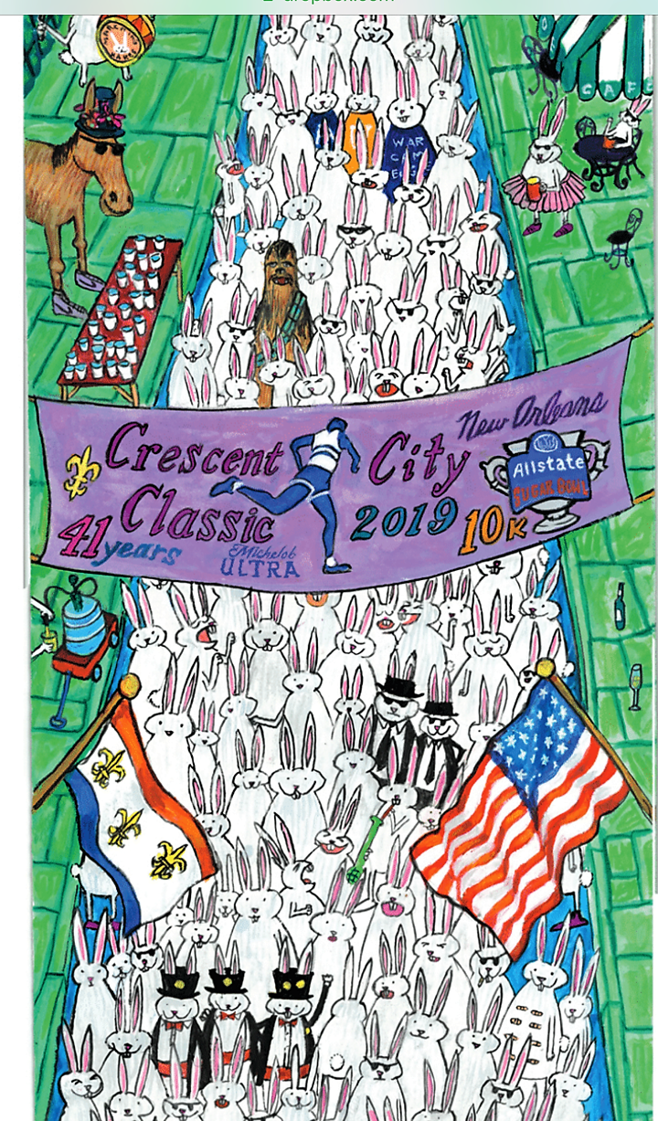 Hopping Down the 10k Bunny Trail With the Crescent City Classic
