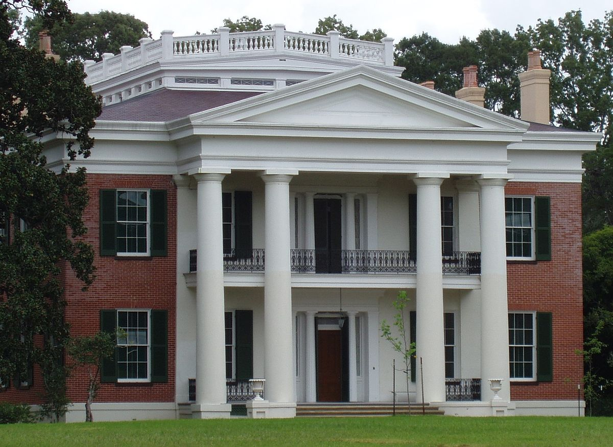 Natchez Melrose Mansion