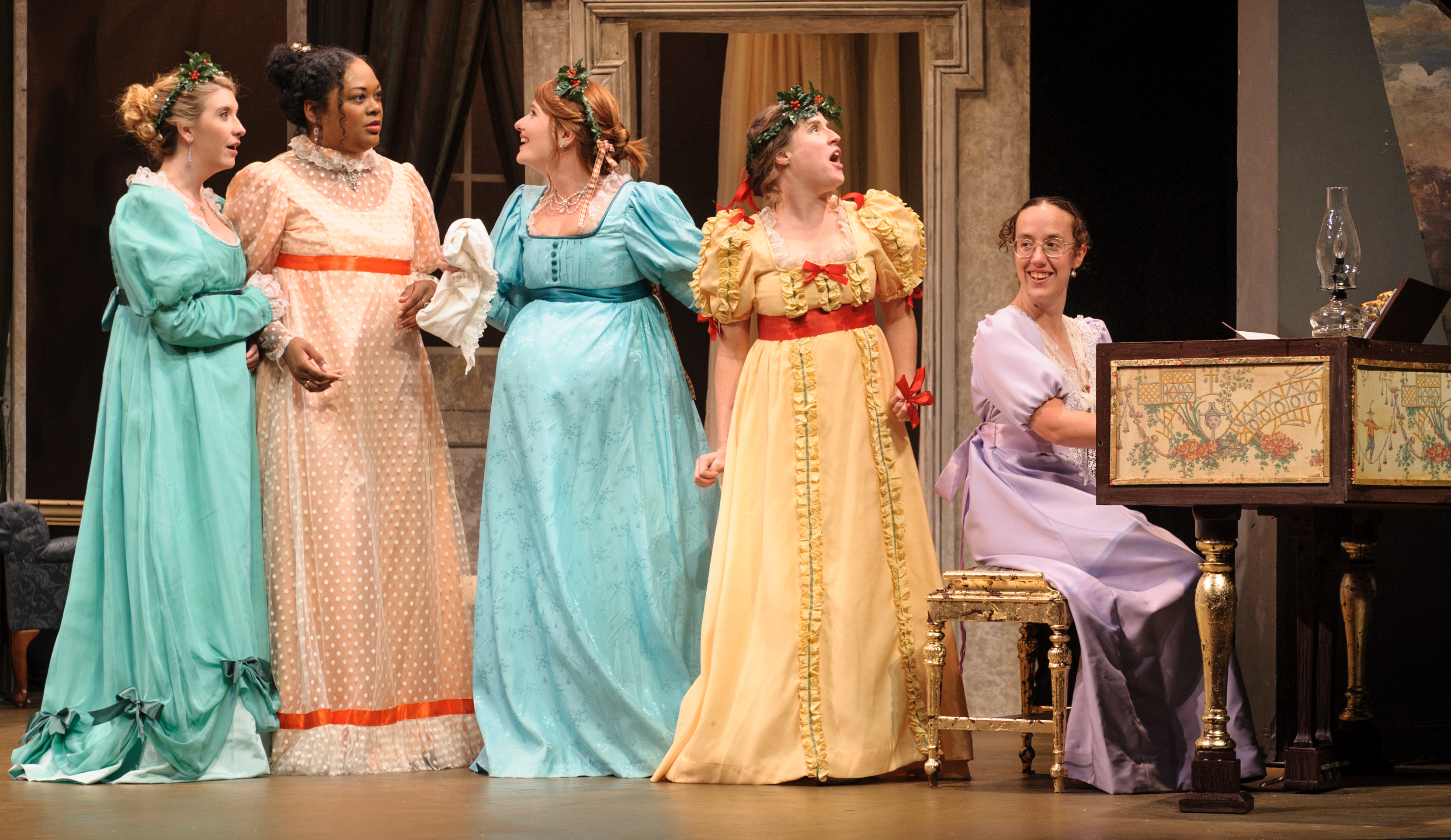 Christmas At Pemberley.Southern Rep Theatre Brings Christmas To The Stage With Em