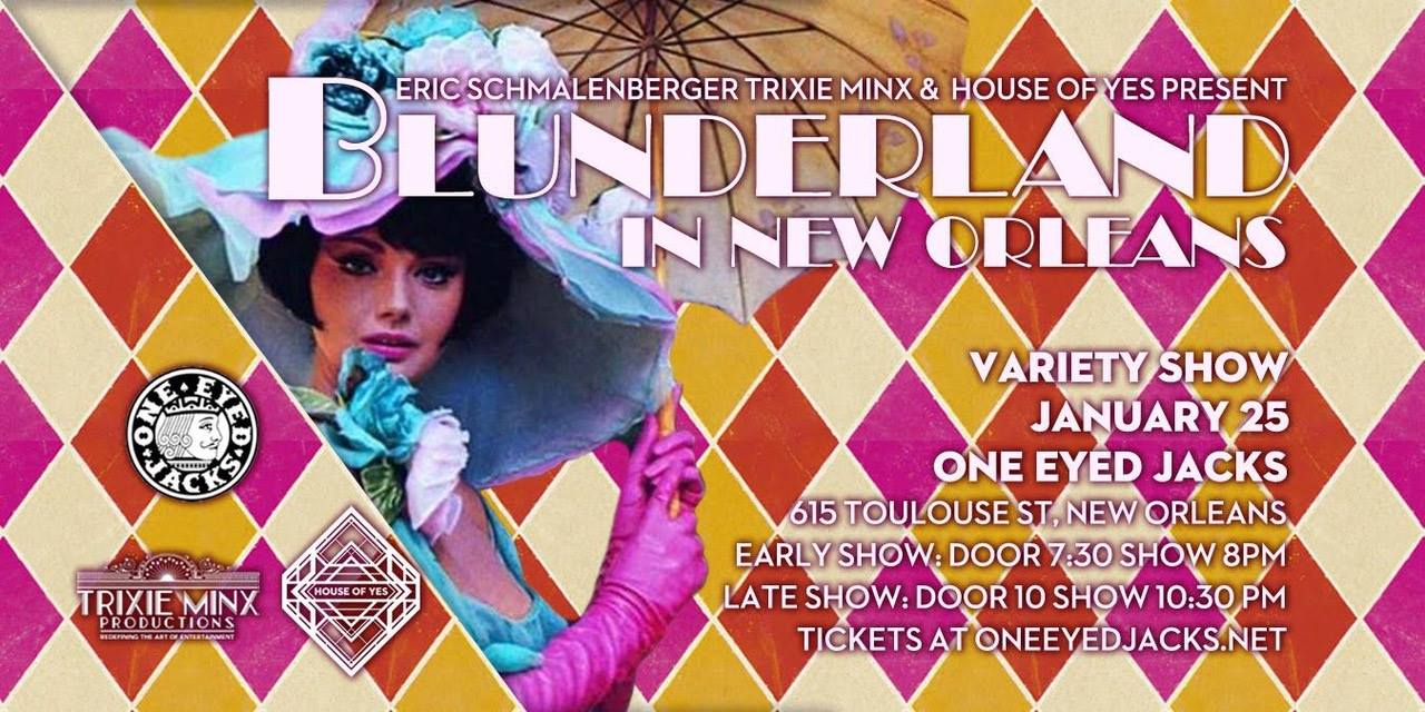 Trixie Minx's BLUNDERLAND Returns For A Night of Tantalizing Burlesque