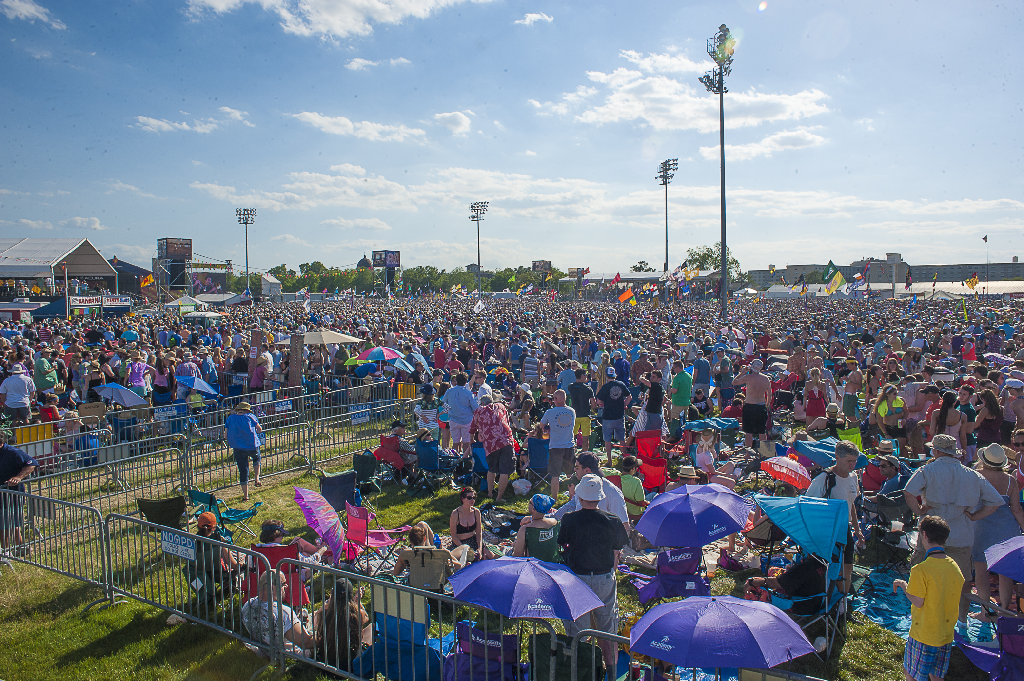 How Jazz Fest Evolved from Local Celebration to Major Production