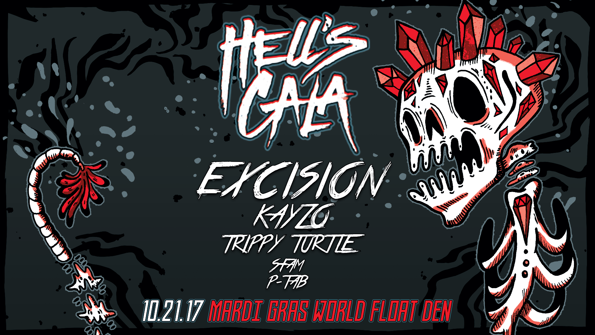 To Hell and Back: Bassheads Unite at Hell's Gala and Afterparty This Saturday, October 21