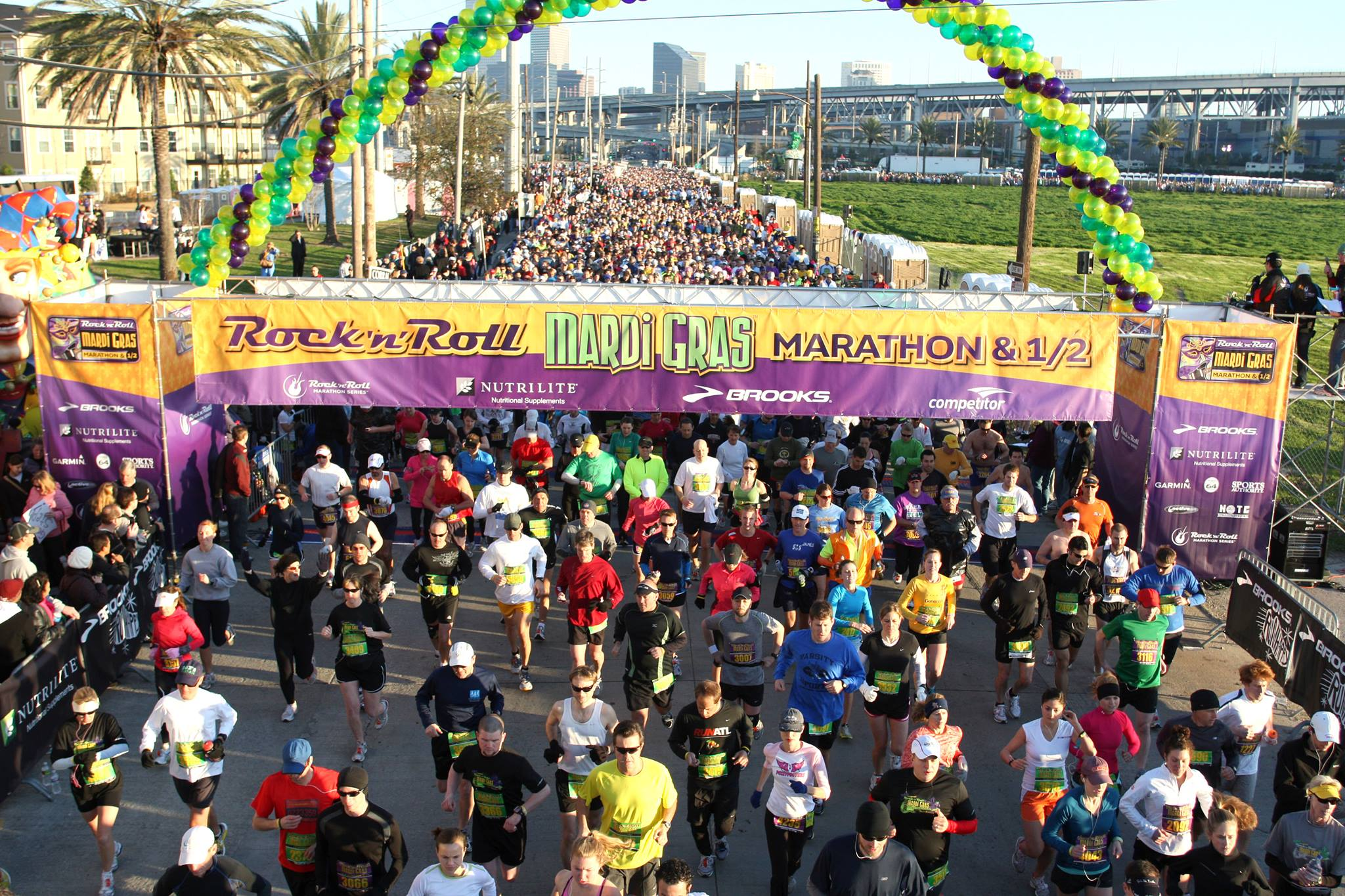 Run for It: Rock �n� Roll Marathon and Half-Marathon Celebrates Its 10th Year in New Orleans