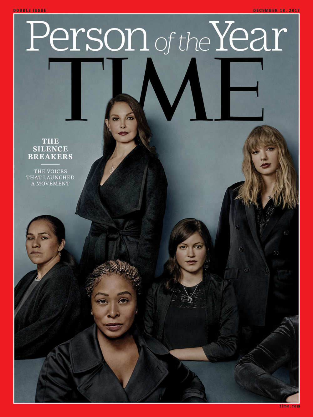 <em>Time Magazine</em> Names its Person of the Year: <em>The Silence Breakers</em>