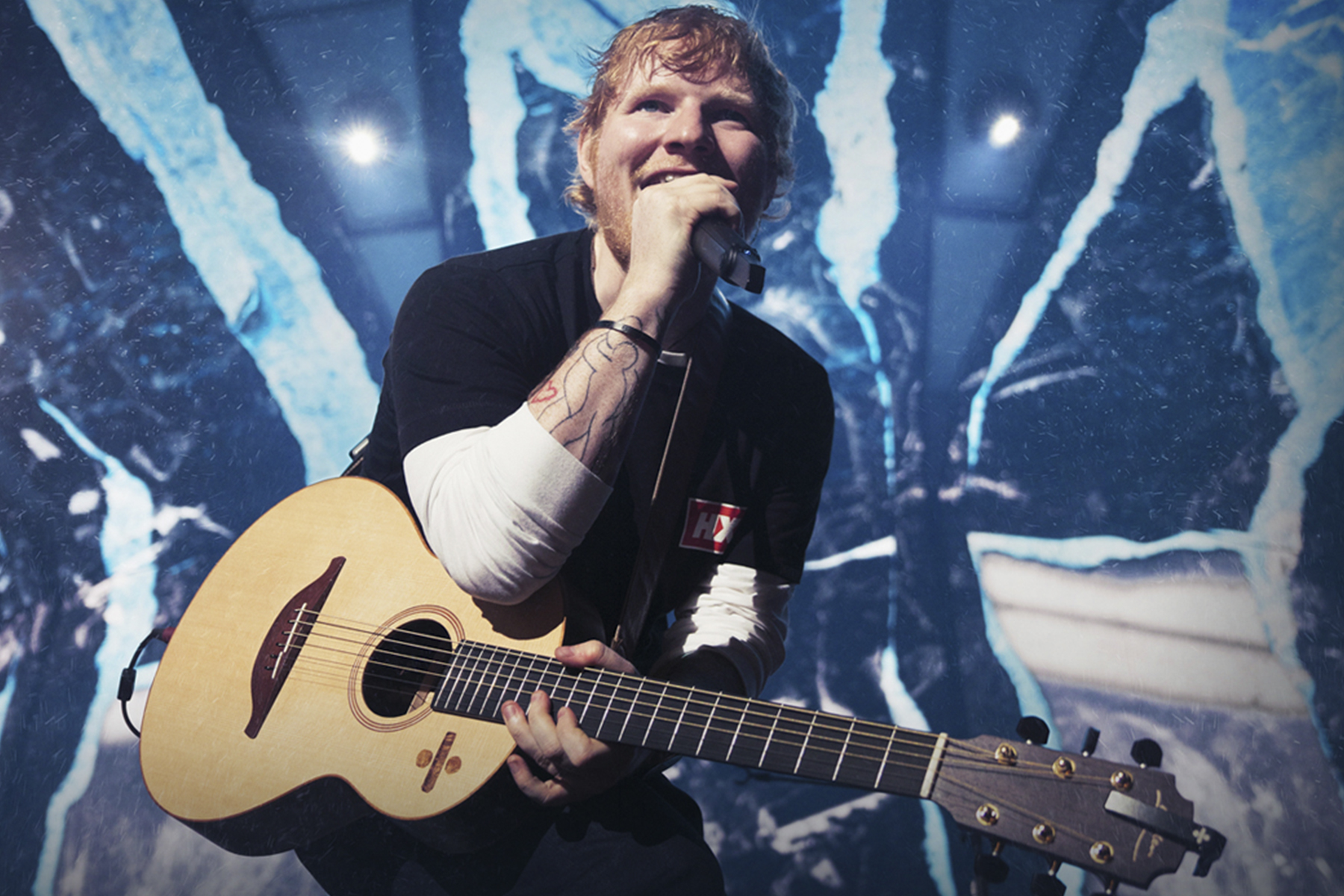 """The Shape of You"": Ed Sheeran�s 2018 Tour Makes a Stop in New Orleans"