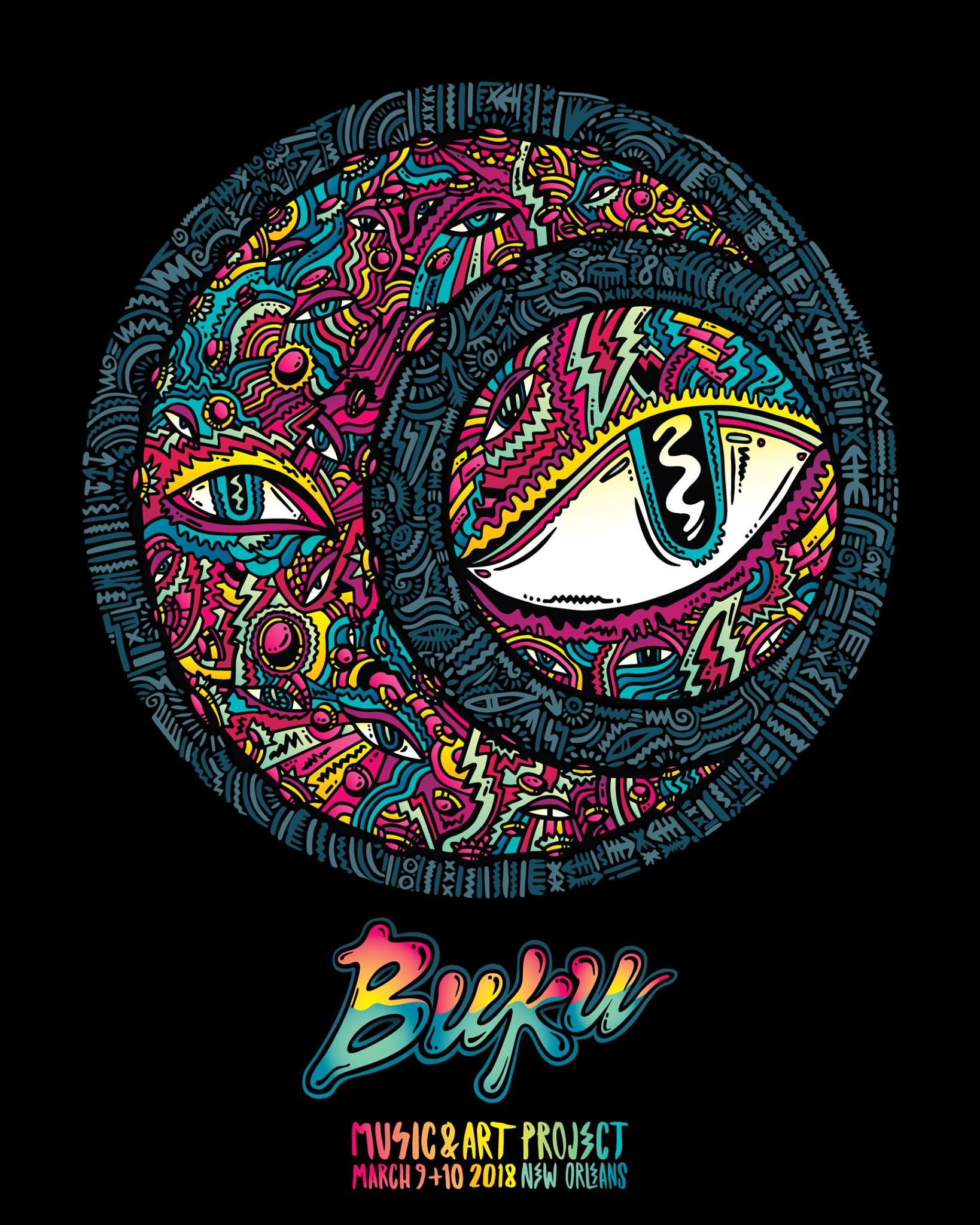 BUKU Music + Art Project Announces 2018 Festival Dates, Tickets on Sale October 11