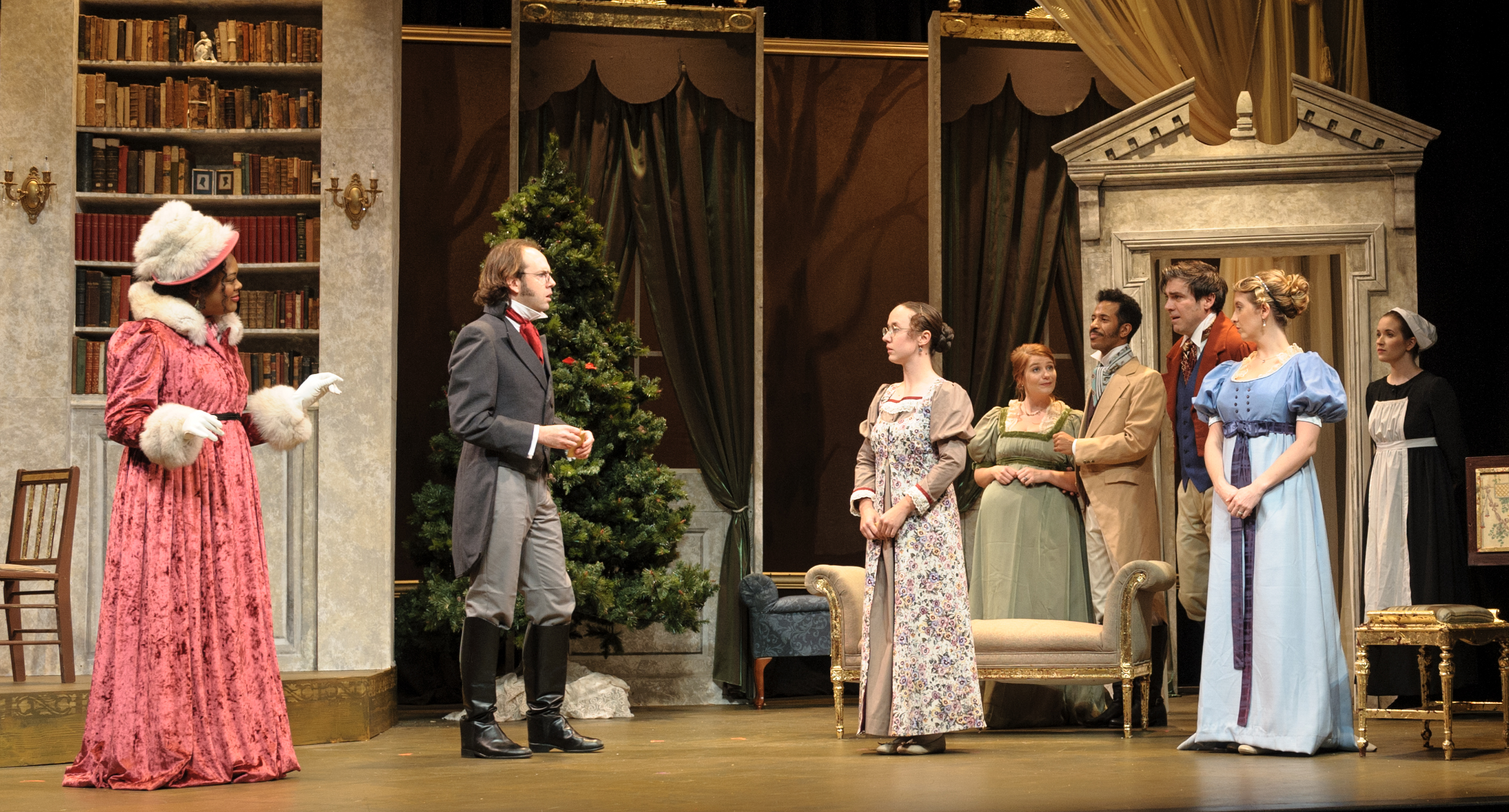 Southern Rep Theatre Brings Christmas to the Stage with <em>Miss Bennet: Christmas at Pemberley</em>