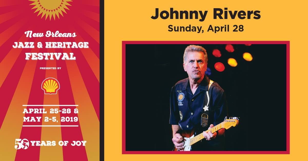 Jerry Lee Lewis Out For Jazz Fest, Replaced by Johnny Rivers