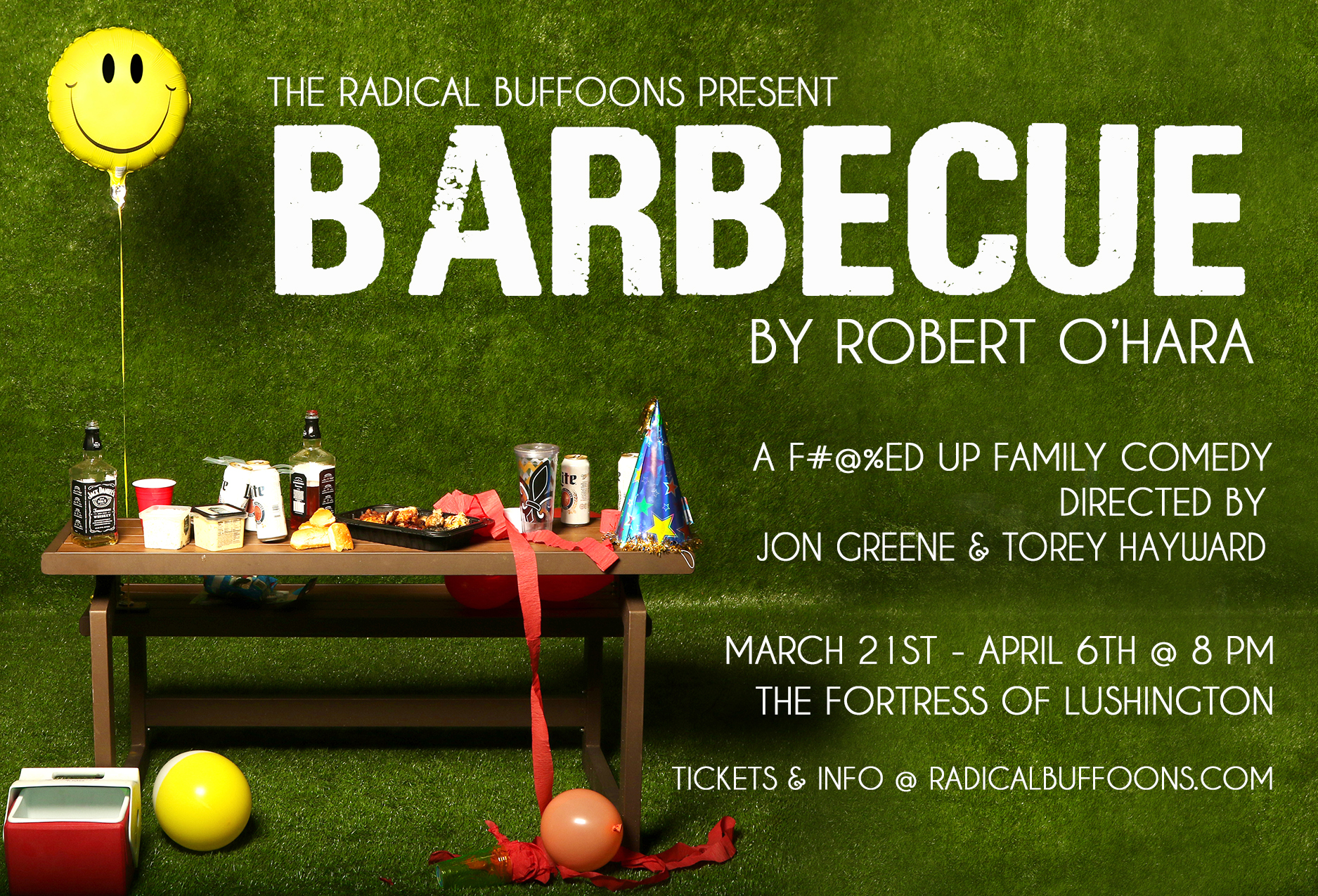 Cooking Up Satire and Plot Twists with <em>Barbecue</em>, the New Play by the Radical Buffoons