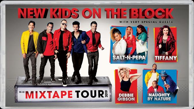 New Kids On The Block Announce The Mixtape Tour Coming to New Orleans in May 2019